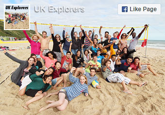 UK Explorers Facebook page