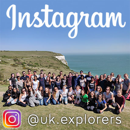 UK Explorers Instagram page