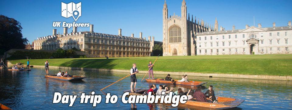 Day trip to Cambridge