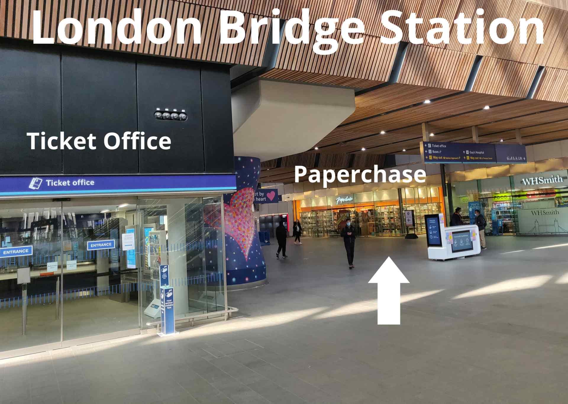 London Bridge Station meeting point