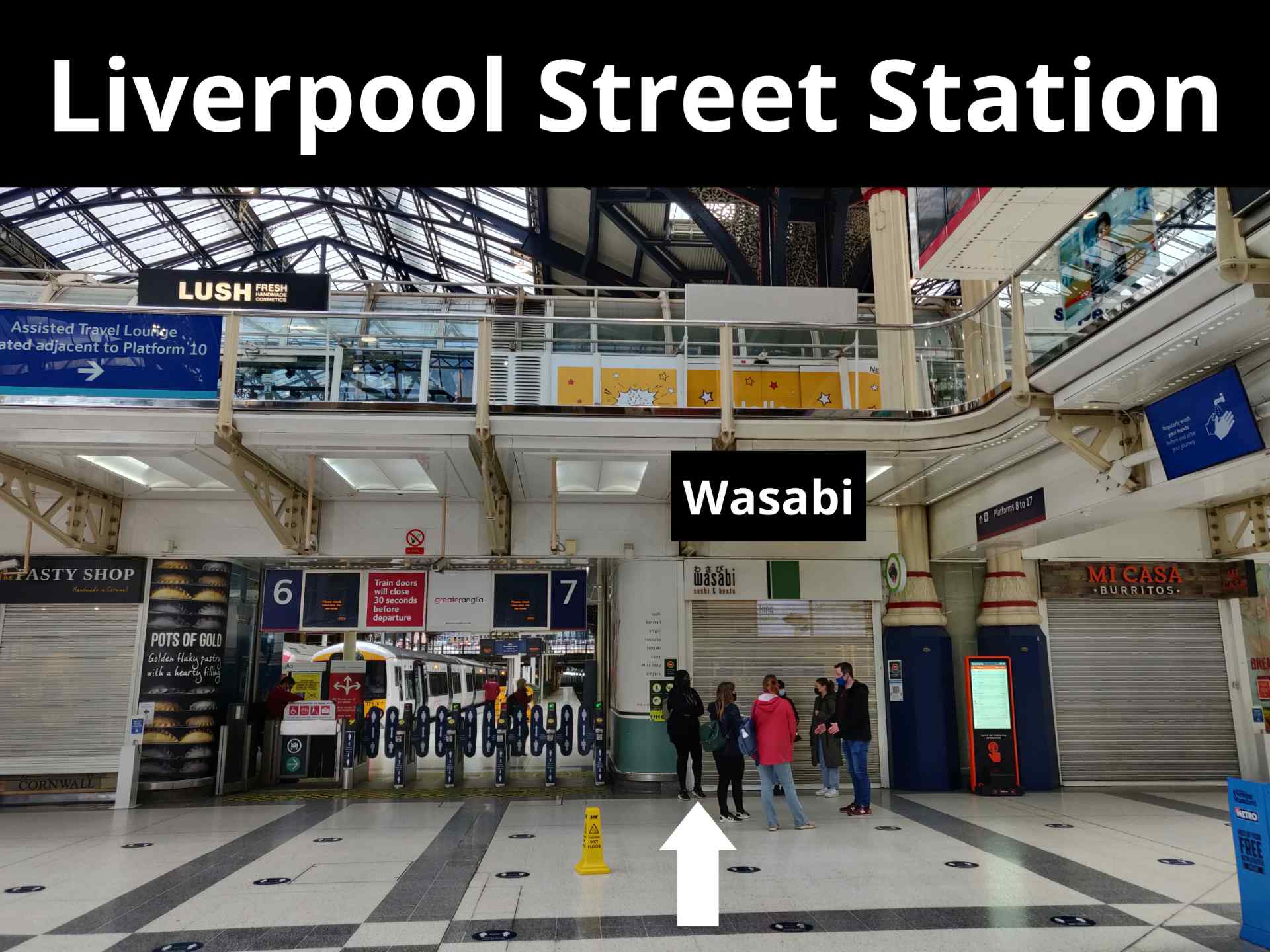 Liverpool Street Station meeting point