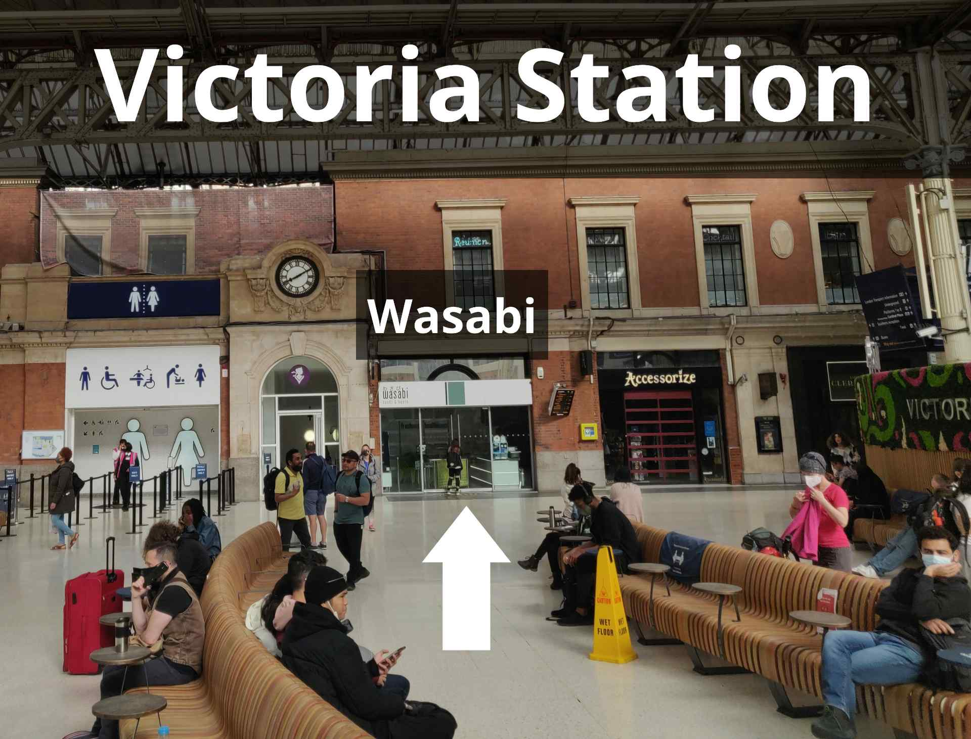 Victoria Station meeting point