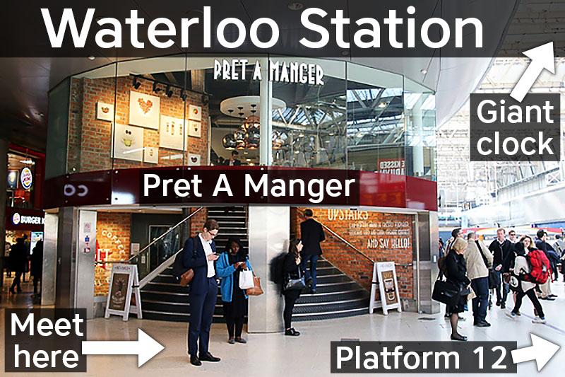 Waterloo Station meeting point